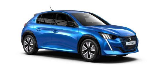 電気自動車(EV車)プジョー e208